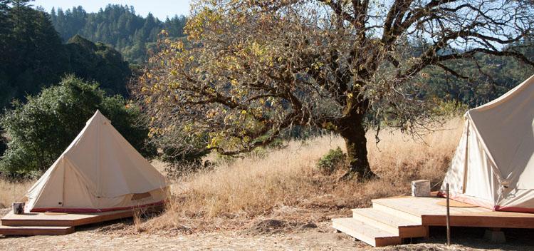 tent location